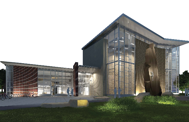 The new Outdoor Adventures Center opens May 5