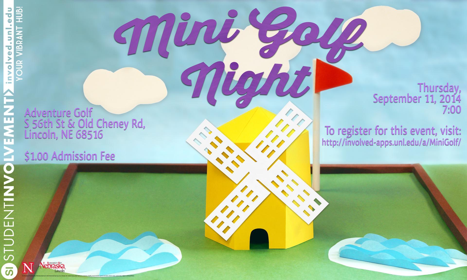 Mini Golf Night