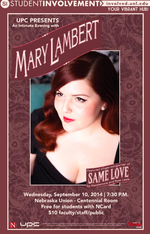 Mary Lambert Poster