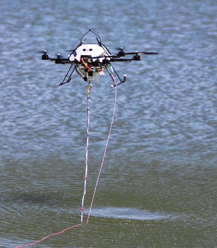 Dr. Detweiler's project on robotic water sampling