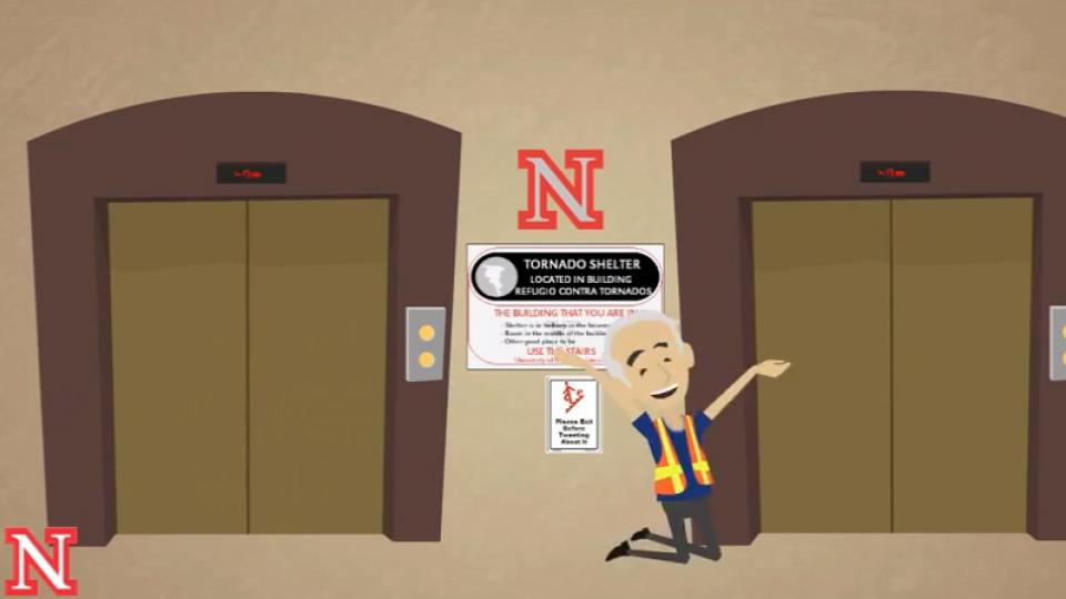A new UNL video series is offering a fun exploration of obvious facts while delivering emergency preparedness reminders to campus.