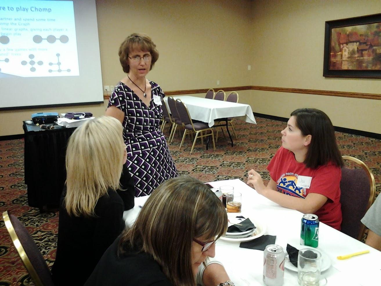 Math Teachers Circle at NATM in 2013