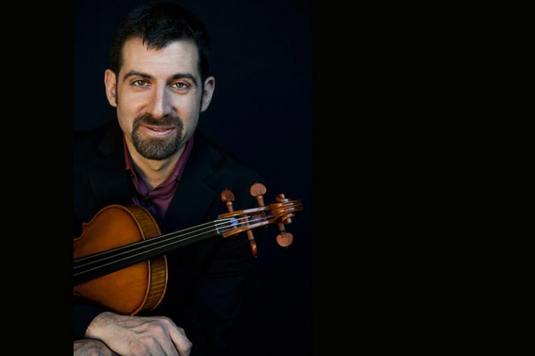"""On Monday, September 22, 2014 at 7:30pm, violist and UNL faculty member Jonah Sirota will perform a recital at the University of Nebraska-Lincoln's Kimball Recital Hall (11th and R Streets). The recital's program is titled """"New Works for Viola""""."""