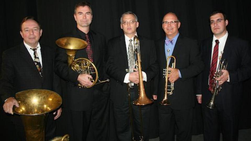 The University of Nebraska Brass Quintet will present a recital of 20th century brass music for quintet at 7:30 p.m. on Sept. 29 in the Kimball Recital Hall.