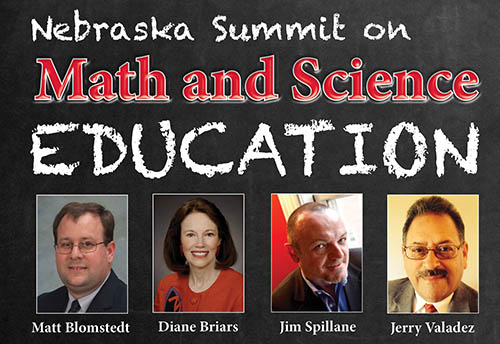 Nebraska Summit on Math and Science Education, Dec. 8