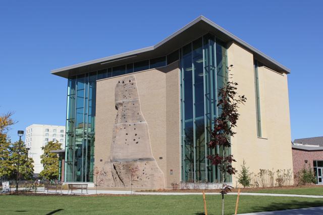 The Outdoor Adventures Center is located at 930 N 14th St (corner of 14th & W) on the UNL City Campus.