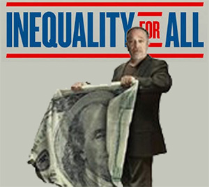 """The Nebraska Council on Economic Educaiton will host a free screening of """"Inequality for All"""" on Thursday, November 6."""