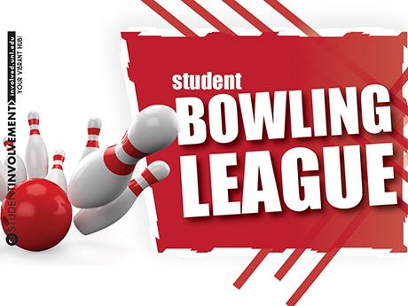 Student Bowling League logo