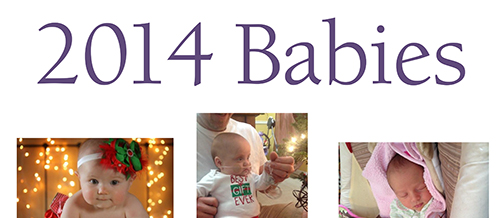 Click on link to see all of the pictures: http://go.unl.edu/babies2014