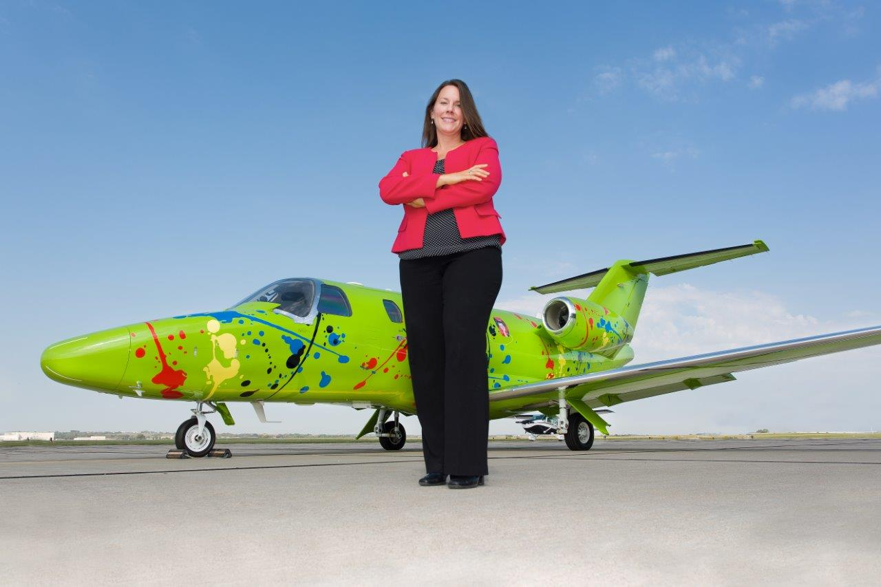 Keynote Speaker Tracy Bohaboj of Duncan Aviation