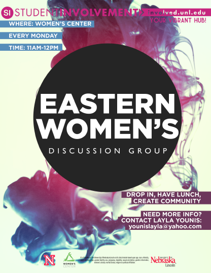 Eastern Women's Discussion Group at the University of Nebraska-Lincoln