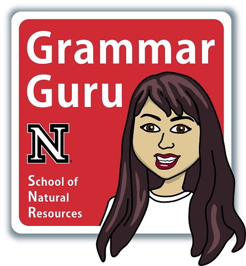 The Grammar Guru enjoys all types of dessert -- from cake to pie to cookies to ice cream, she'll eat it all!