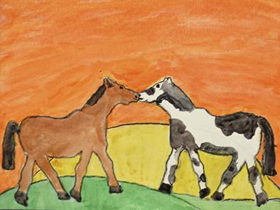 2015 Maxwell Nebraska 4-H Horses Images