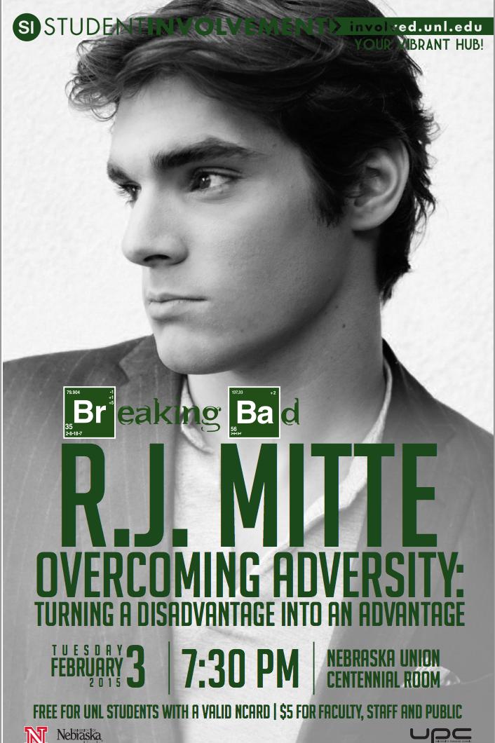 UPC Presents: R.J. Mitte [Overcoming Adversity: Turning a Disadvantage into an Advantage]