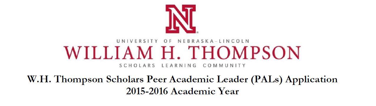 Job Opening: Peer Academic Leader (PAL) | Announce | University of ...