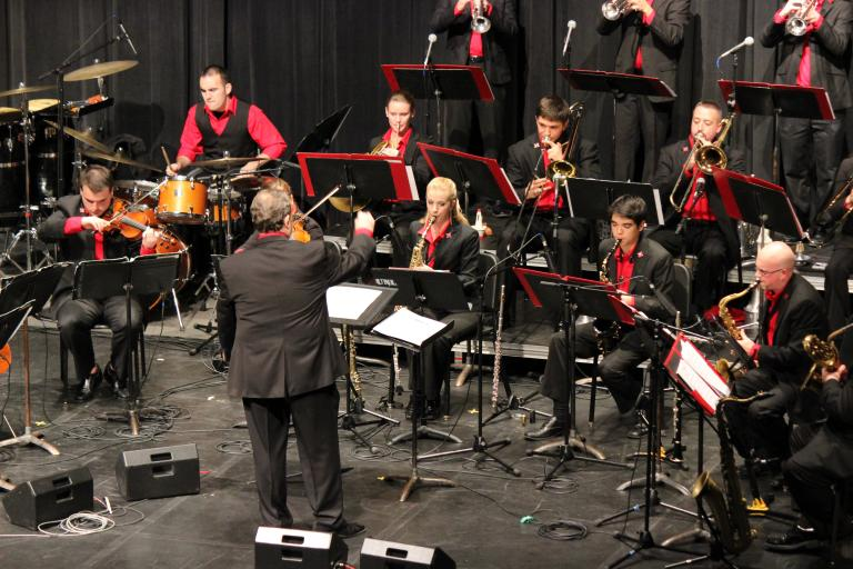 a writers trip to the concert of the neiu jazz ensemble Established in 1989 to give voice to young australian band and orchestra musicians, brolga music has gone on to establish itself as the leading publisher and exporter of australian-composed works for concert band, jazz ensemble and string and full orchestra.