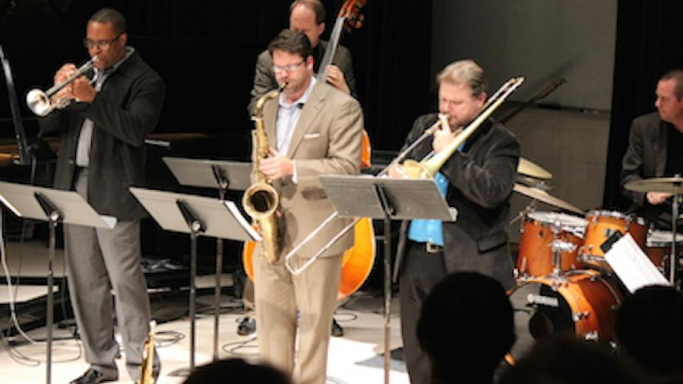 The Faculty Jazz Ensemble will perform at 7:30 p.m. March 9 in Westbrook Hall.