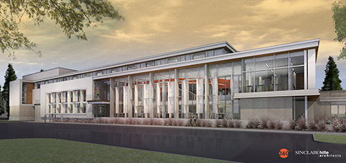 The new Rec & Wellness Center at East Campus officially opens July 13. It is located on the site of the former Activities Building, north of the Burr-Fedde residence halls.
