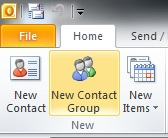 Tips, Tricks & Other Helpful Hints: Creating a Contact Group from the Recipient List of a Message