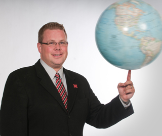 Mike Zeleny, assistant vice chancellor for research, is chair of the Combined Campaign at UNL.