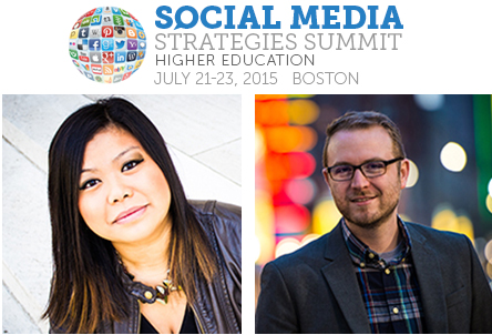 Hixson-Lied College Assistant Director of Recruitment Jemalyn Griffin (left) and UNL Social Media Specialist Tyler Thomas will be presenting at the Social Media Strategies Summit for Higher Education July 21-23.