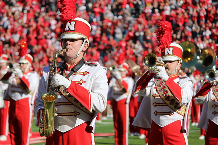 The Cornhusker Marching Band will present their annual exhibition concert on Aug. 21.