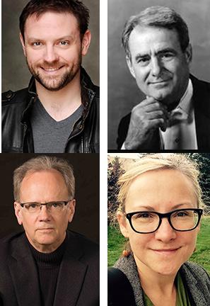 Clockwise from upper left:  Wesley Broulik, Eph Ehly, Milena Radzikowska and Tom Larson.