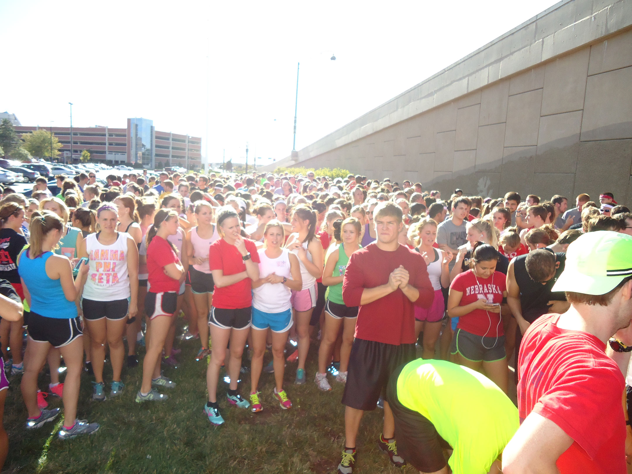 Free Homecoming 5K Run + Walk Begins in the north lot of Harper Hall