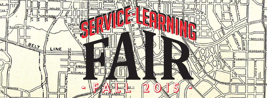 Fall Service-Learning Fair 2015