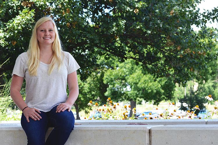 SNR graduate student Catie Finkenbiner has been awarded a $25,000 Monsanto Graduate Student Scholarship. (Mekita Rivas   Natural Resouces)