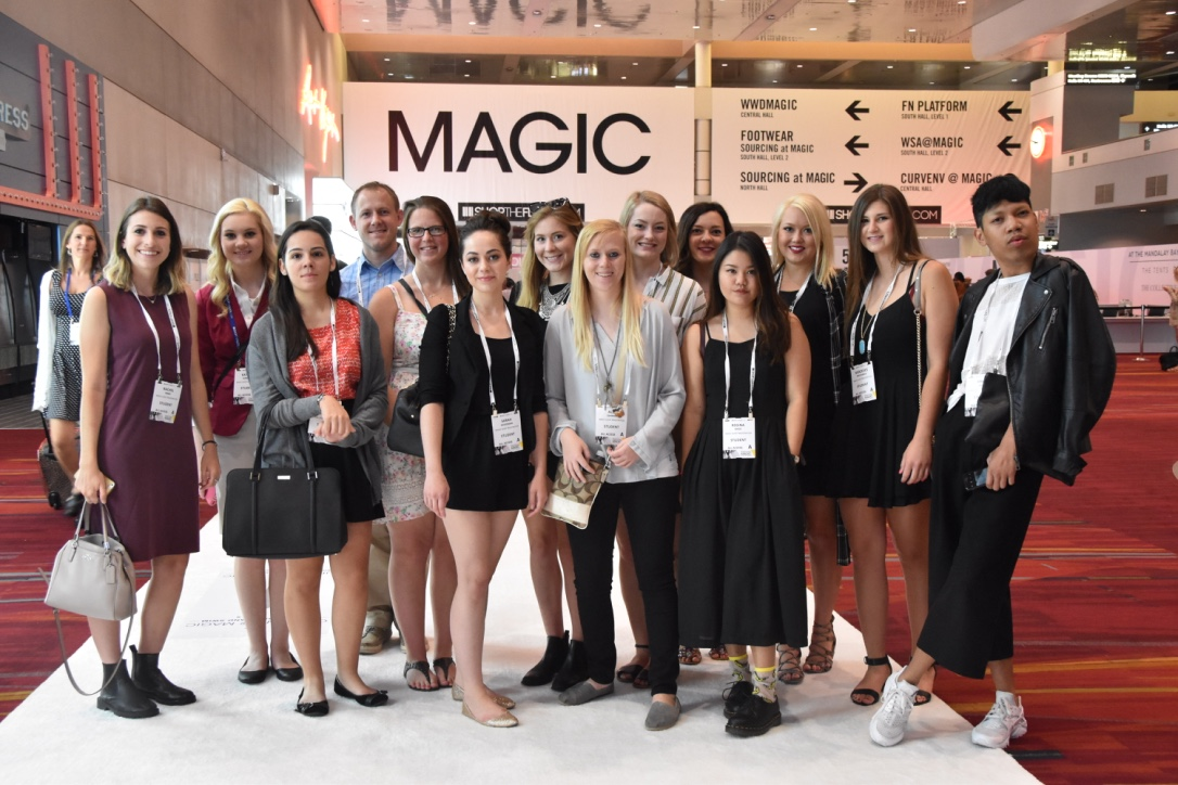 Students In The Department Of Textiles Merchandising And Fashion Design Travel To Las Vegas To Attend Magic Trade Show Announce University Of Nebraska Lincoln