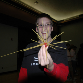 Middle schooler enjoys a session at Discover Engineering Days