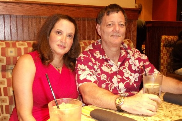 Ron Block with wife Diana. They met and married in the Dominican Republic in 1985. (Courtesy photo)