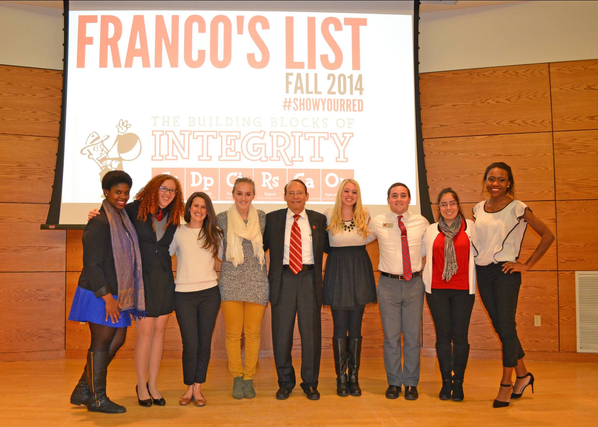 Dr. Franco seeking students of character to apply