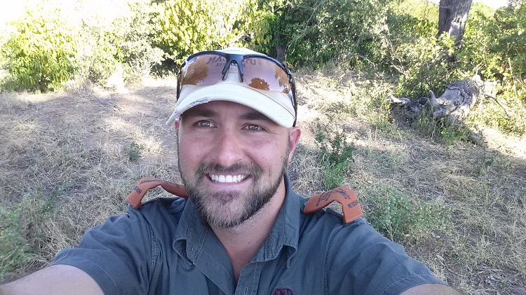 Andrei Snyman, doctoral student, has been selected to receive a $4,000 Shikar Safari Club Scholarship from the Texas Game Warden Association. (Courtesy photo)