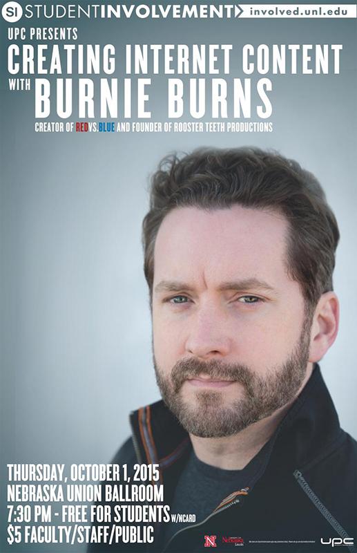 Burnie Burns Poster