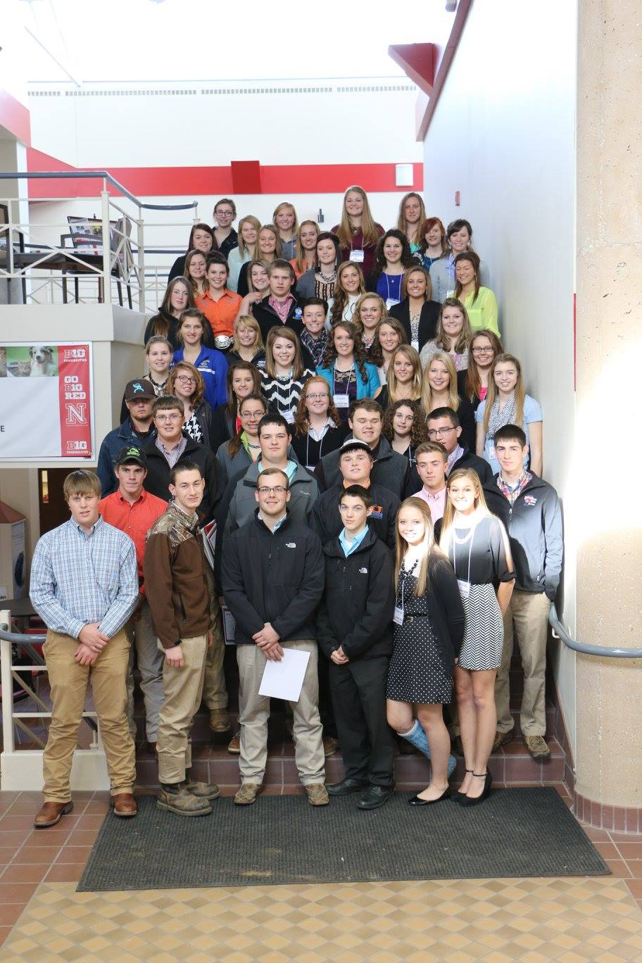 2014 Nebraska Youth Beef Leadership Symposium participants.  Photo courtesy of Lindsay Chichester.