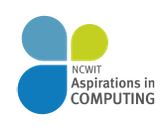 Apply for Aspirations in Computing Award