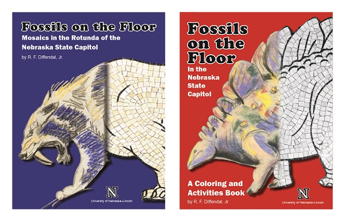 """Professor emeritus Bob Diffendal was inspired to write the """"Fossils on the Floor"""" books after coming across the drawings of Erwin H. Barbour."""