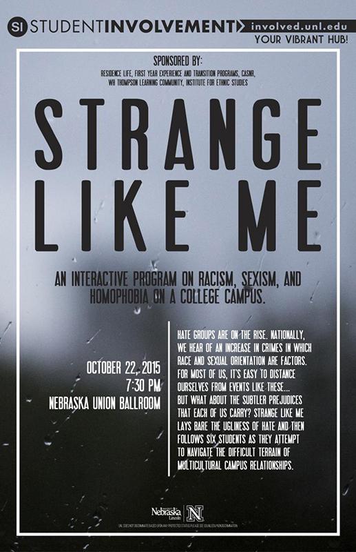 Strange Like Me poster