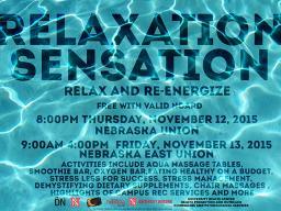Relaxation Sensation Poster