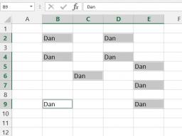 Tips, Tricks & Other Helpful Hints: Multiple Cells, Same Data to Enter in Excel