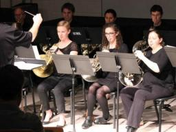 The Glenn Korff School of Music's Large Brass Ensembles will perform at 7:30 p.m. Nov. 23 in the Westbrook Recital Hall. The event is free and open to the public.