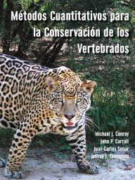 """Cover of """"Métodos Cuantitativos para la Conservación de los Vertebrados."""""""