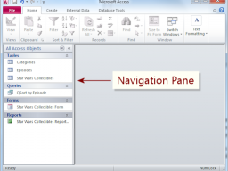Tips, Tricks & Other Helpful Hints: Resizing the Navigation Pane in Access