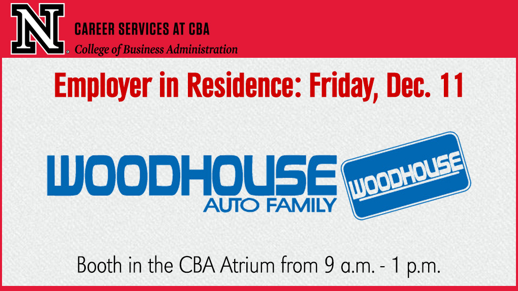 Friday December 11 Woodhouse Auto Family Announce