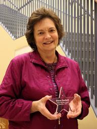 Diane Sealock, TLTE, December Staff Star Award recipient