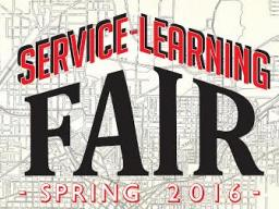 Service Learning Fair Spring 2016