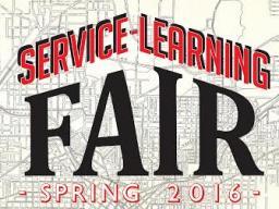 Service Learning Fair Spring 2016