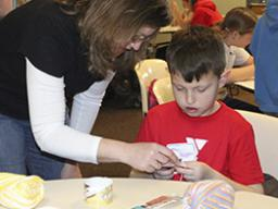 "4-H youth can learn the single crochet stitch at the ""Basic Crocheting"" workshop."